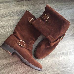 Frye Veronica Suede Short Boot
